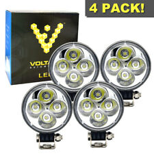 (4 pcs) 3 INCH Round 6000K 12W LED Spotlight FOG LIGHTS ATV 4X4 AUXILARY UTILITY
