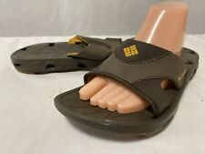 Columbia Men's Slide Sandals Sport Trail Hiking Water Shoes light Size 9, EUR 42