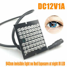 Infrared Illuminator Light 48pcs Led Board Invisible DIY CCTV Night Vision L80