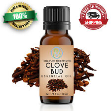 Clove Bud Essential Oil 10 ml 100% Pure & Natural Therapeutic Grade