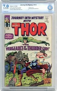 Thor Journey Into Mystery #115 CBCS 7.0 1965 0009836-AC-001