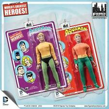 New Mego Purple and Red Card Aquaman Webbed Hands DC World's Greatest Heroes