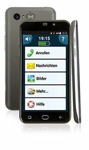 Amplicomms PowerTel M9500 Senioren Handy schwarz mit ++B-Ware++