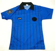 VINTAGE United States Soccer Federation Referee Shirt Size Small S Blue Jersey T