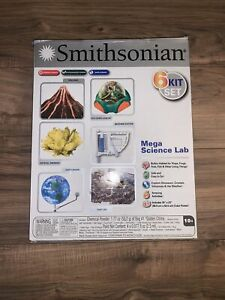 Smithsonian Mega Science Lab 6 Kit Set #49009 (BSA Edition 2015) - BRAND NEW!
