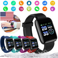 Smart Watch Bluetooth 4.2 Heart Rate/Oxygen Blood Pressure Fitness Sport Tracker