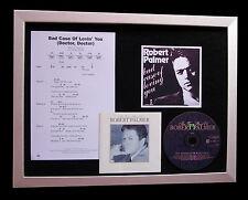 ROBERT PALMER Bad Case Lovin CD QUALITY MUSIC FRAMED DISPLAY+EXPRESS GLOBAL SHIP