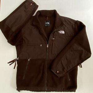 Vtg The North Face Denali Jacket Men's Size M Coat Brown  Full Zip Polartec