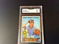 1987 TOPPS RANDY HUNDLEY ALL-STAR ROOKIE CARD #106 - GRADED (6) EX - NEAR MINT