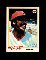 1978 Topps Baseball #670 Jim Rice (Red Sox) NM-MT