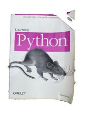 Learning Python by Mark Lutz 4th Edition Covers Python 2.6 and 3.x  L@@k!!
