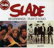 Slade(CD Album)Beginnings/Play It Loud-Salvo-SALVOCD001-UK-2006-New