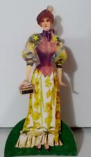 Jointed Lady Doll of paper, by Judy M Johnson (#137) One of a kind