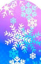 20 water slide nail decals full nail Christmas teal pink snowflakes Trending