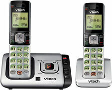 VTech CS6729-2 DECT 6.0 Expandable Cordless Phone System w/ Digital Answering...