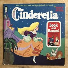 The Peter Pan Players And Orchestra Cinderella 1971 Vinyl LP Peter Pan BR 500