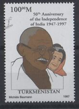 Mahatma Gandhi 50th ans de l'indépendance de l'Inde 1997 neuf sans charnière STAMP