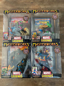 Marvel Legends Masterworks Diorama LOT NIB RARE
