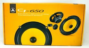 "JL Audio C1-650 C1 Series 6-1/2"" 2-Way Component Speaker System NEW!"