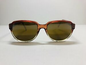 Vintage Vuarnet Sunglasses Gradient Sunset Brown Polarized Mirror Lens 80's