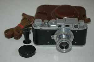 Zorki-1, Type B, EXPORT Vintage 1950 Soviet Rangefinder Camera. 129250. UK Sale