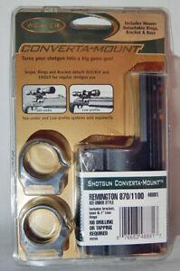 NEW WEAVER CONVERTA-MOUNT FOR REMINGTON 870/1100 SHOTGUNS #48881 (J)