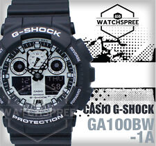 Casio G-Shock White and Black Series Ana-Digital GA100BW-1A AU FAST & FREE*