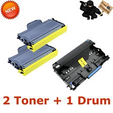 1PK DR360 Drum 2PK TN360 Laser Toner for Brother PRINTER MFC-7340 MFC-7840W