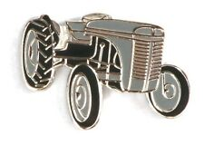 Grey Fergie Tractor TE20 Enamel Tie or Lapel Pin Badge NEW 1st Class POSTAGE