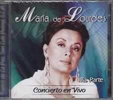 Maria De Lourdes Concierto en Vivo CD New sealed Nuevo