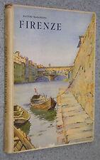 De Agostini 1930 Visioni Italiche Marangoni FIRENZE monumenti pittura ARTE
