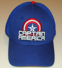 Captain America New Era Cap Hat Flex Fit Stack L/XL Neo Marvel 39thirty Movie