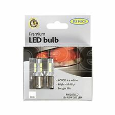 Ring LED Bulb - 12V R5W/R10w 6000K-LED - Long Life (RW207LED)