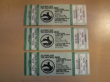 GRATEFUL DEAD MOSCONE CENTER SAN FRAN.1982 MINT CONDITION COMPLETE TICKET-BLUNT!