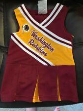 Washington Redskins Official NFL Infant Cheerleader Style Dress Size 12 months