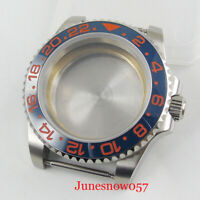 40mm Watch Case without Magnifier Sapphire Glass Fit ETA 2836 MIYOTA Movement