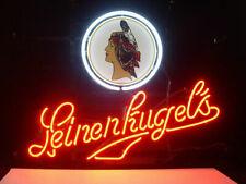 "New Leinenkugel's Wisconsin Girl Beer Party Light Lamp Decor Neon Sign 17""x14"""