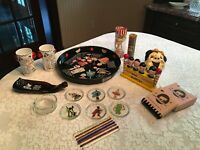 """VINTAGE 1950's Bar Accessory Collection --  """"New"""" from the 1950's -- Really FUN!"""