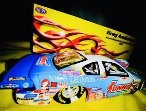 NHRA Greg ANDERSON Pro Stock 1:24 Diecast SUMMIT Drag Racing Car NITRO DENNIS