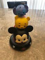 Disney Tsum Tsum Night Light Mickey, Pooh, Stitch Tower Totem 2016 Peachtree