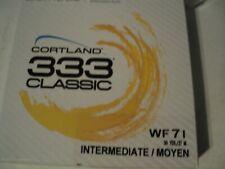 1- Box Cortland 333 Classic Wf-7-I Fly Line (Nip) Last Ones