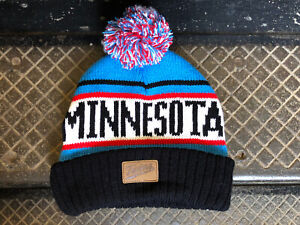 Official 2020 Minnesota Twins Knit Caribou Stocking Hat Target Field - Brand New