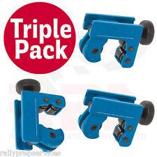 TRIPLE PACK condotta DEL FRENO & Tubo Cutter per 3 - 22mm RAME Tube & Tubo Del Freno