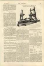 1900 Boiler Flue Drilling Machine, Freewheel Bicycle Gearing, London Gas Price