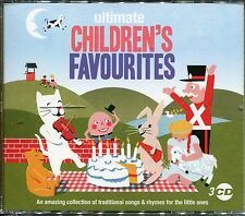 ULTIMATE CHILDREN'S FAVOURITES - 3 CD BOX SET - TRADITIONAL SONGS & RHYMES
