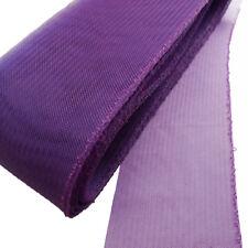 "CLEARANCE!  3 yards Piece  3"" Royal Purple Threaded Horsehair Braid Trim"