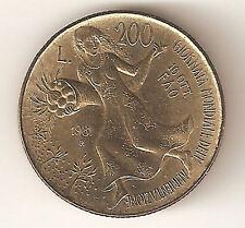 200 LIRE 1981 - FAO / VILLA LUBIN