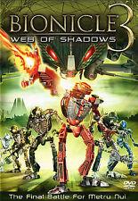 DVD BIONICLE 3 WEB OF SHADOWS The Final Battle for Metru Nui - NTSC NEW