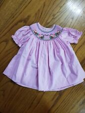 Rosalina Collections catterpillar smocked dress size 6 months