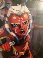 Star Wars The Clone Wars #6 (2008) Dark Horse First Print..Ashoka Tano Cover App